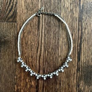LOFT pearl & gem necklace